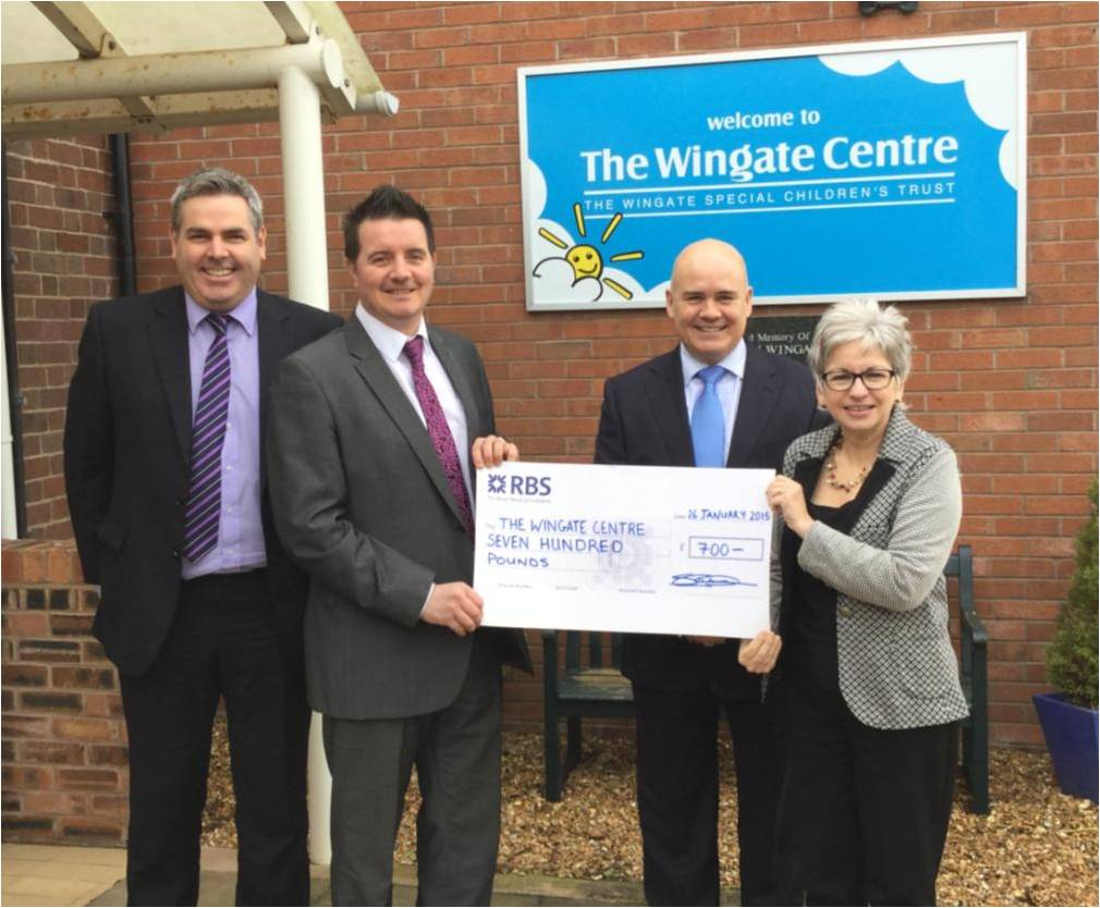 How can i support the wingate special children 39 s trust for The wingate