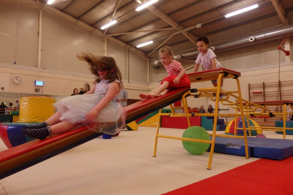 Holiday Club in the Gym at the Wingate Centre
